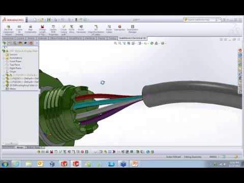 SolidWorks Electrical - Connectors and Cable Design