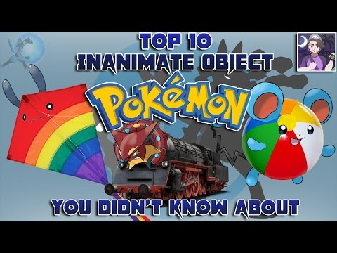 Top 10 Inanimate Object Pokémon You Didn't Know About (Feat. Speqtor)