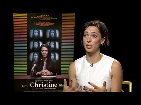 "Rebecca Hall on true life tragedy of Christine Chubbuck in new film ""Christine"""
