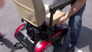 electric wheelchair liberty 312 disassembling