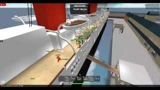 roblox RMS hanover departure england