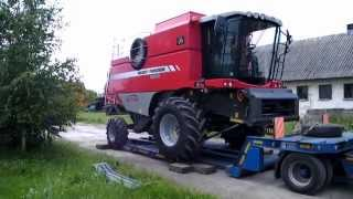 Wiosenne zakupy 2010. Massey Ferguson Activa 7244, Wielton 10t, MXL ......