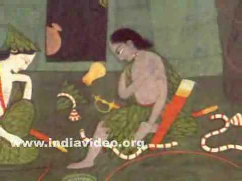 Rama and Lakshmana lamenting the loss of Sita