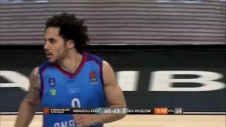 19.03.2019 / Anadolu Efes - CSKA Moskova / Shane Larkin