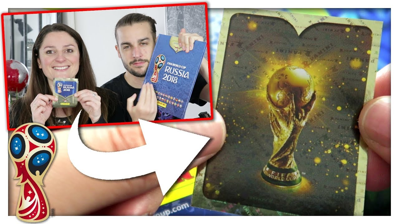 la coupe du monde panini coupe du monde 2018 youtube