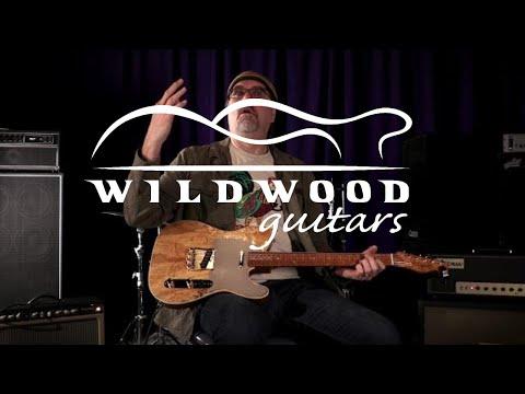 Fender Custom Shop Wildwood 10 Artisan Telecaster - Spalted Maple  •  SN: CZ533261