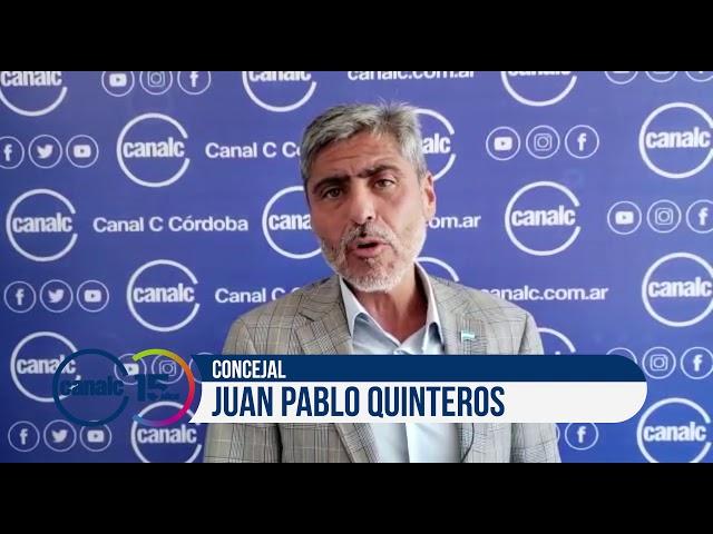 Canal C 15 años: Juan Pablo Quinteros, concejal