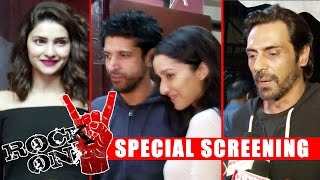 ROCK ON 2 Movie Screening | Farhan Akhtar, Shraddha Kapoor, Arjun Rampal