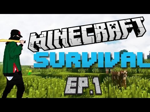 "Minecraft Xbox 360 Survival: ""The Basics""-Ep.1"