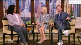 Shonda Rhimes on Live with Kelly and Ryan talking #TGIT - Grey