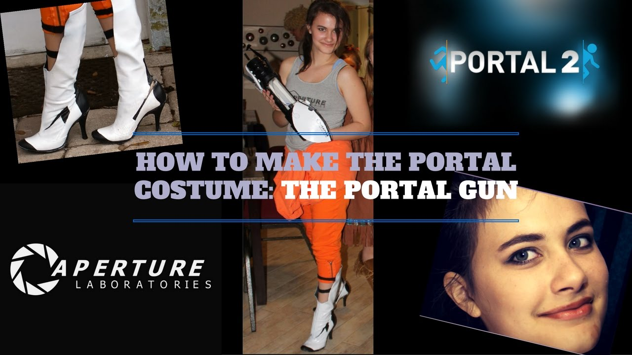 How To Make The Portal Gun Character Cosplay Chell Amethyst S Corner