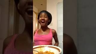 Hot spicy noodle challenge  (I cry)