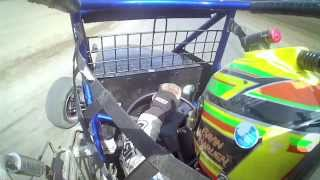Gavin Harlien at Cory Kruseman Sprint Car Driving School