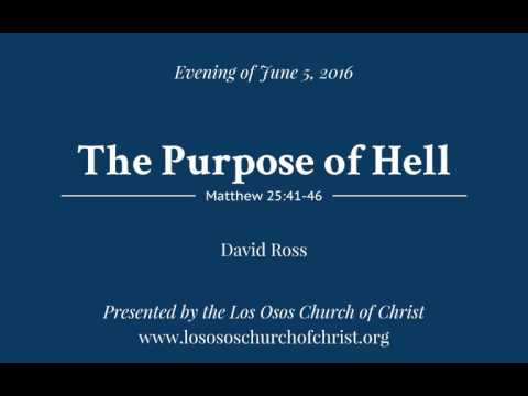 The Purpose of Hell - David Ross