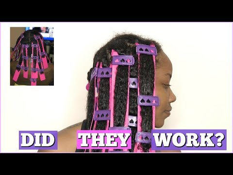 FIRST IMPRESSIONS OF THE CWK GIRLS STRETCH PLATES ON KINKY CURLY NATURAL HAIR