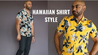 How To Wear A Hawaiian/Floral Shirt 8 Different Ways
