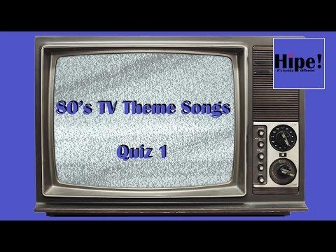 80's TV Theme Tunes Quiz