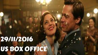 US Box Office (29/11/2016) أفلام البوكس أوفيس