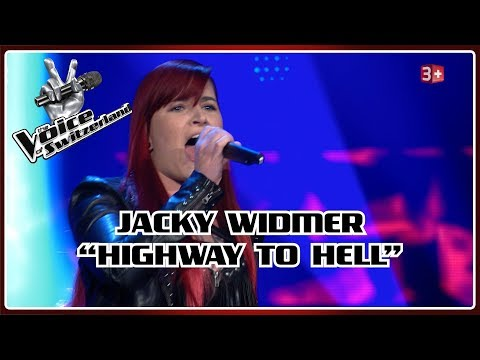 Jacky Widmer - Highway to Hell   Blind Auditions   The Voice of Switzerland