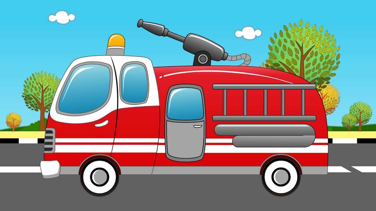 Fire Truck And Fire Fire Truck Uses Youtube
