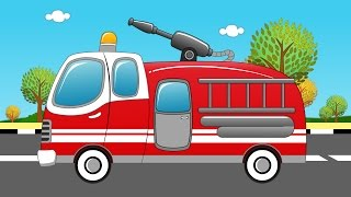 Fire Truck and Fire | Fire Truck Uses