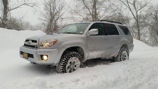 Toyota 4Runner WALK-AROUND & DEEP SNOW DRIVE