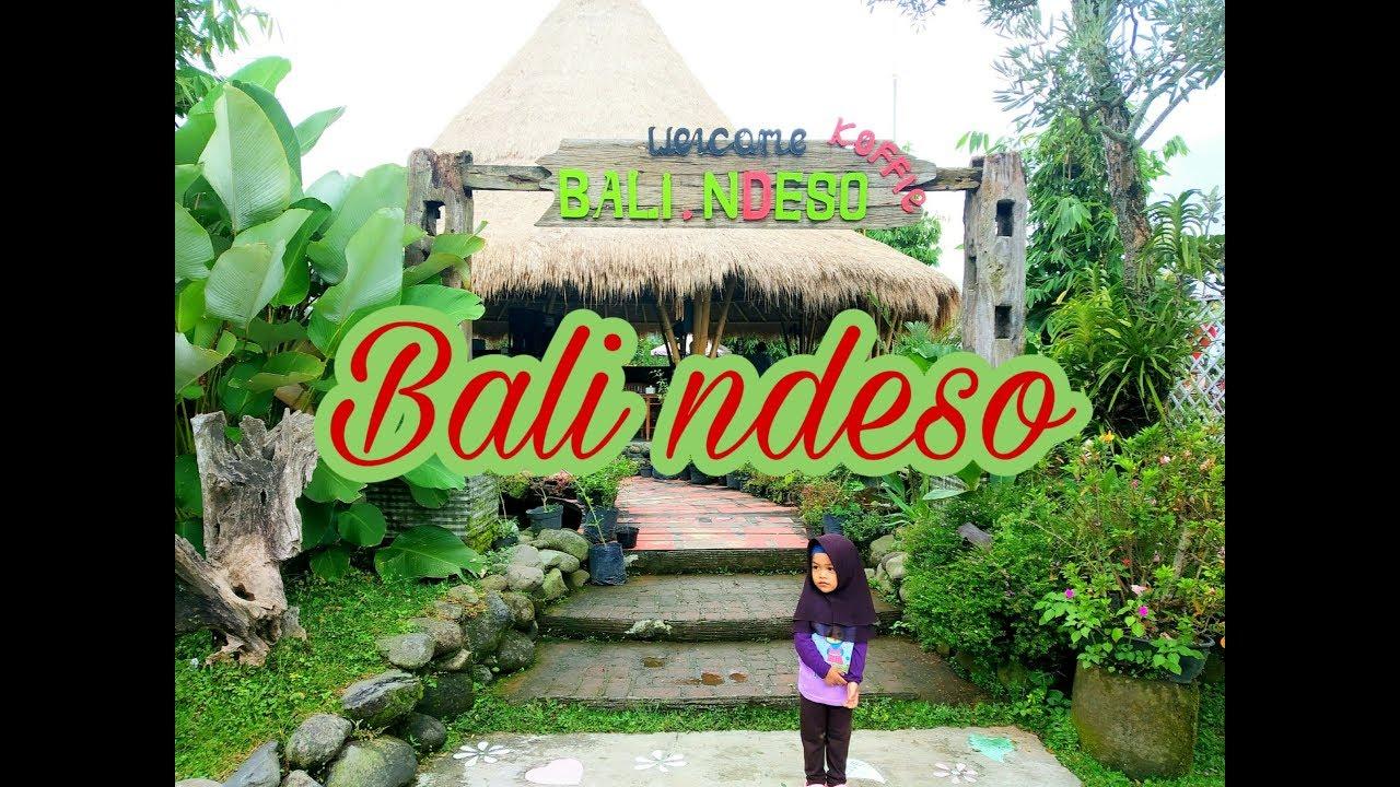 Bali Ndeso Resto Kemuning Karanganyar Liburan Aisha Youtube