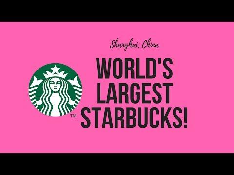 Travel vlog - Largest Starbucks in the world in Shanghai