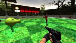 CS Source - Plants vs Zombies! / Контр-зомби против зомби! [Full HD]