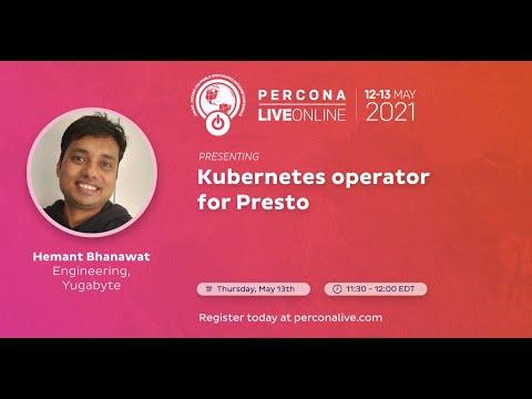 Kubernetes Operator for Presto