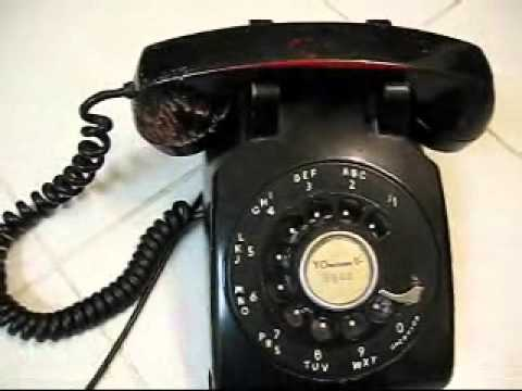 HOW TO Connect a Vintage 1950's 3 wire desktop phone to a 2 wire house Wall Mount Rotary Phone Wiring Diagram on