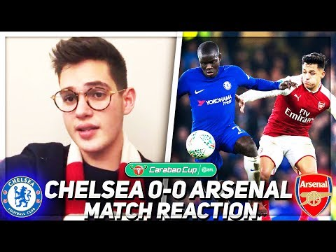 THAT WAS DECENT!!! (Jack) Chelsea 0-0 Arsenal 💥AFTV YOUNG GUNZ💥