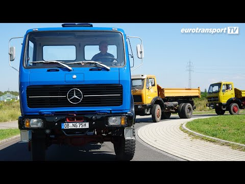 Mercedes-Benz NG/SK-Baureihen: Die gute alte Zeit   eurotransportTV #Oldtimer