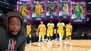 OPAL FAN FAVORITES LINEUP! 99 TACKO FALL & BOL BOL vs Trash Talker! NBA 2K20 MyTeam