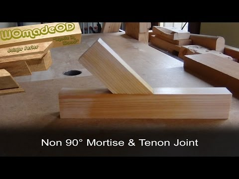 Mortise and Tenon - Angled Components