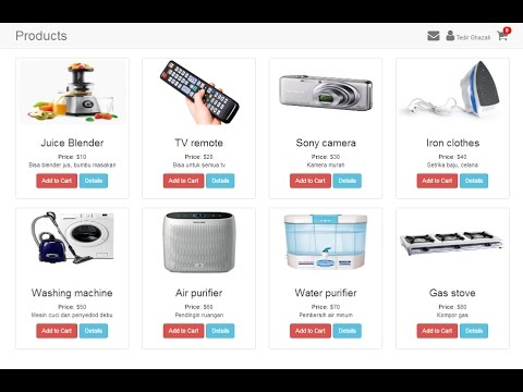 Shopping Cart With jQuery and PHP