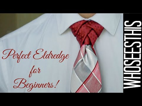 How to tie the PERFECT Eldredge Knot for beginners