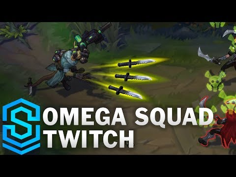Omega Squad Twitch Skin Spotlight - Pre-Release - League of Legends