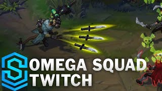 Omega Squad Twitch Skin Spotlight - Pre-Release - League of Legends thumbnail