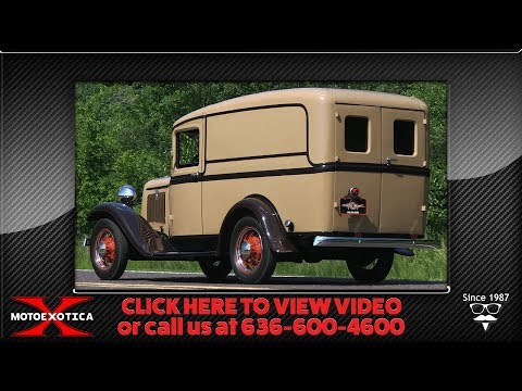 1934 Ford Panel Truck || SOLD
