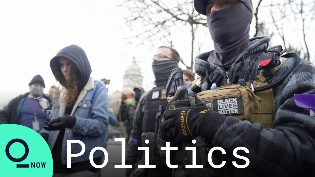 Militia Groups Gather at Kentucky State Capitol