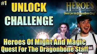 UNLOCK CHALLENGE! #1 (HOMM Quest For The Dragonbone Staff PS2)