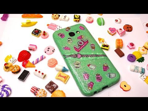 DIY - How to Make LOL Surprise Easy PHONE CASE | Recycled Craft | Christmas Gift Idea