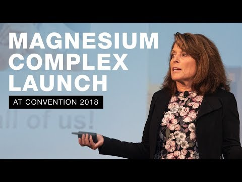 Magnesium Complex Launch By Dr. Applegate At Convention 2018