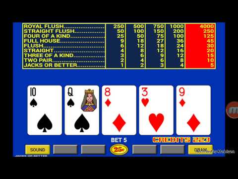 Classic Video Poker Android Game