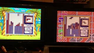 Tetris DX - 2-player game