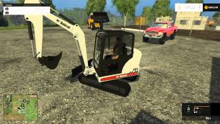 Farming Simulator 2015 - Mining and Construction Map With Mods!