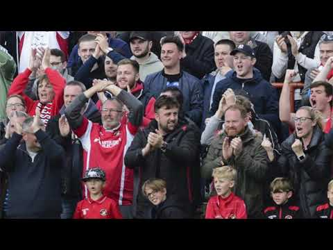 Ebbsfleet United Hospitality Suite + Dave Archer interview courtesy of KMTV