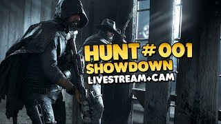 Hunt Showdown | Alpha | Multiplayer | Cam 👑 #001 [Let's Play][Gameplay][Deutsch]