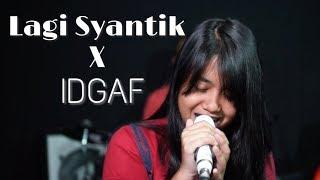 Lagi Syantik X IDGAF - Siti Badriah X Dua Lipa (Live Cover) by Hanin Dhiya | Rehearsal